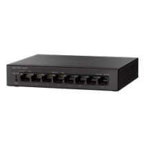 Switch Cisco 8xRJ45 , black / SG110D-08HP