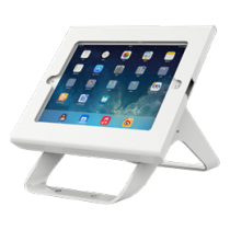 iPad table mount DELTACO, 180 ° rotation, 90 ° tilt, white / SH-381