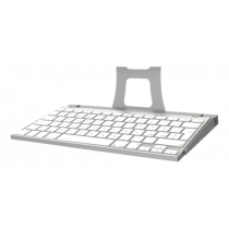 Keyboard tray Maclocks for Maclocks iPad enclosure wall mount, Silver / SH-551