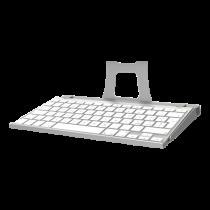 Keyboard tray Maclocks for Maclocks iPad enclosure wall mount, Silver / SH-551