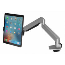 Universal tablet arm Maclocks Cling Reach 59 cm, quick slide, cable handling, silver / SH-579