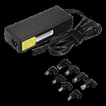 Universāls adapteris klēpjdatoriem, 90W, 15-20V / 6A (max), melns