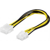 DELTACO extension cord 8-pin EPS12V ha-ho, 25cm / SSI-42