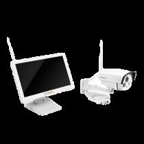 "Camera Technaxx  18.5"", HD LCD, 720p, white / TECH-025"