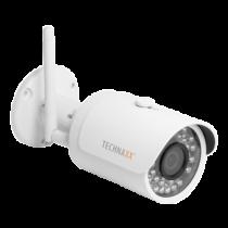 "Outdoor camera Technaxx Bullet PRO, FullHD, 2304x1536, IP67, 3 MP CMOS 1/3"", white / TX-65 / TECH-029"
