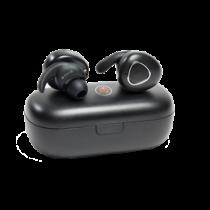 MusicMan In-ear headphones, Bluetooth, IPX4, microphone Technaxx black / TECH-110