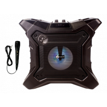 N-Gear The X streetbox, wireless light & speaker system, black  / THE-X