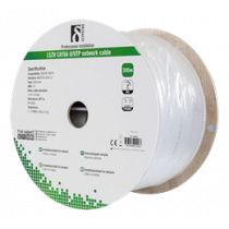 Cable DELTACO UTP, 305m, CAT6, white / TP-44BH