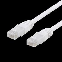 EPZI U / UTP Cat6 plāksteru kabelis, CCA, 0.5m, 250MHz, balts