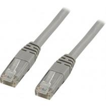 DELTACO U / UTP Cat6 patch cable, 20m, 250MHz, Delta-certified, LSZH, gray / TP-620
