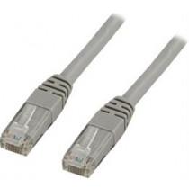DELTACO U / UTP Cat6 patch cable, 3m, 250MHz, Delta-certified, LSZH, gray / TP-63
