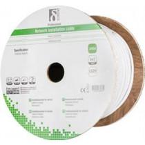 DELTACO S / FTP Cat7 Installation Cable, 305m Drum, 600MHz, Delta Certified, LSZH, White / TP-71C