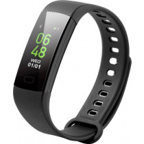 Technaxx Fitness Wristband, Displays heart rate, blood pressure, steps, distances, burned calories, sleep time, clock, date & weather / TG-HR2