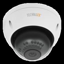 """Outdoor camera Technaxx Dome PRO, FullHD,1/3""""3MP, RJ-45, white  TX-66 / TECH-030"""