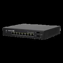Ubiquiti EdgeSwitch 8 150W 802.3af / at Passive PoE Switch, PoE / PoE + or 24V Passive PoE, Black ES-8-150W / UBI-ES-8-150W