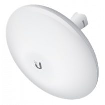 Ubiquiti NBE-M5-19 NanoBeam M airMax Bridge, outdoor, 5GHz, 150Mbps, up to 15+ km. PoE adapter, white NBE-M5-19 / UBI-NBE-M5-19