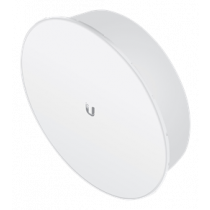 Ubiquiti airMAX PowerBeam ac ISO, 5GHz, 25dBi gain, 400mm dish reflector, up to 25km, white PBE-5AC-400-ISO  / UBI-PBE-5AC-400-ISO