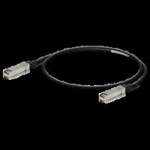 Ubiquiti UniFi SFP + cable, 1m, DAC, 10Gbps, black UDC-1 / UBI-UDC-1