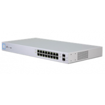 Ubiquiti UniFi Gigabit Switch, 16-portu, 150W PoE, balts