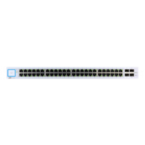 Ubiquiti UniFi switch US-48, 48xGigabit RJ45 ports, 2xSFP, 2xSFP, 140Gbps, silver US-48 / UBI-US-48