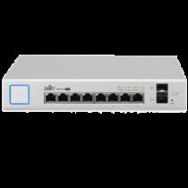 Ubiquiti UniFiSwitch 8-Port Switch, 150W PoE, Gigabit Ethernet, SFP, White US-8-150W / UBI-US-8-150W