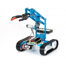 Makeblock Ultimate 2.0, 10-in-1 Robot Kit, aluminum, 10 different types of construction, Bluetooth, blue / 90040