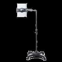 "AIDATA Lounge Universal tablet floor stand, on wheels, 7-10"" tablets,"