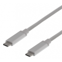 USB3.1 C TIPA - C GEN2 3A 0,5m SILVER PP BAG