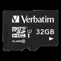 Memory card Verbatim Tablet 32GB, Class 10, microSDHC UHS-I / V44059