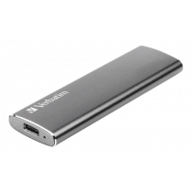SSD Verbatim Vx500 480GB, external, USB 3.1, Gen 2, space gray / V47443