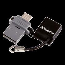 USB memory Verbatim Dual Drive, 64 GB, USB 2.0/Micro USB / V49844