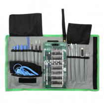Smartphone Repair Kit, 75 pc, Precision CRV DELTACOIMP green / VK-53