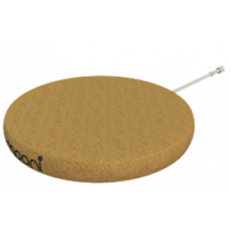 Mooni korķa vāciņš, kas paredzēts WireFree lādēšanas plāksnītei, mīksta tekstūra, brūns korķis