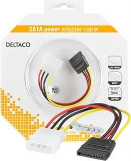 "SATA cable DELTACO power 5.25""->1xSATA / SATA-S-K"