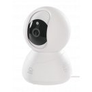 "DELTACO SMART HOME PTZ network camera for indoor use, 720p, WiFi 2.4GHz, IR 10m, 1/4 ""CMOS, microSD, white SH-IPC03"