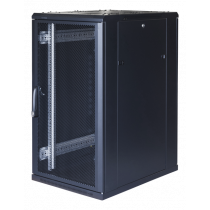 "TOTEN System G, 19"" cabinet, 22U, 600x1000, perforated front door, perforated/ 19-G6022PP"