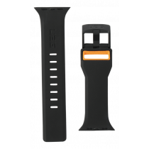 UAG Apple Watch 44mm/42mm Civilian Strap Black/Orange 283385