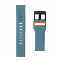 UAG Samsung Galaxy Watch 46mm Civilian Strap, light blue / orange 283396