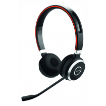 Jabra Evolve 65 UC stereo - Headset - on the ear - Bluetooth - wireless - NFC - USB/ JABRA-407