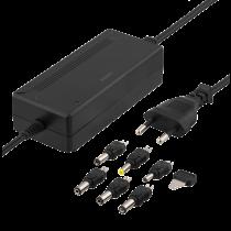 Power supply DELTACO 100-240 V, 5-15 V DC 3 A, max 36 W, 6 tips, black / PSR-30A