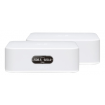 Instant Router Ubiquiti AmpliFi Wi-Fi, 2x2 MiMO, touch screen, 802.11ac, kit of 2, white / UBI-AFI-INS