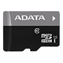 Memory card A-DATA Premier MicroSDHC, UHS-I Class 10, 32GB, 50 MB/s read, 10 MB/s write, SDA 3.0, black / ADATA-331