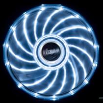 Akasa Vegas LED chassis fan, 120x120x25mm, 1200 RPM, 3-pin, 23.2 dBA, black / white / AK-FN091-WH