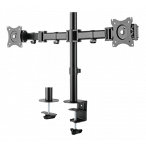 "Desk mount DELTACO OFFICE 13""-27"", 8kg, 75x75-100x100 / ARM-0300"