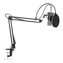 Microphone Kit MAONO 16mm, arm with bracket, black / AU-A03