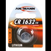 Battery Ansmann CR1632 Lithium, 3V / BAT-1632