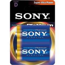 Batteries SONY Platinum, D-LR20 Stamina PLATINUM, 2-pack / BAT-608
