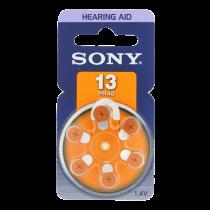SONY PR48 Zinc battery for hearing aids, 1.4V, 6-pack  PR13DN / BAT-614