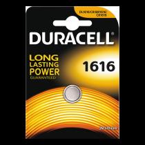 Duracell Coin Battery, CR 1616, Lithium, 3V, 1-pack 030343 / BAT-911