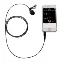 Boya BY-LM10, Lavalier microphone, 3.5 mm, omnidirectional, 1.2 m cable, black / BOYA10005